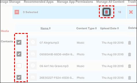 Click Files To Delete