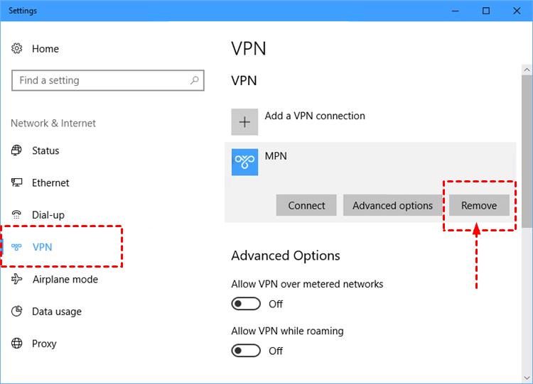 Remove Vpn Client