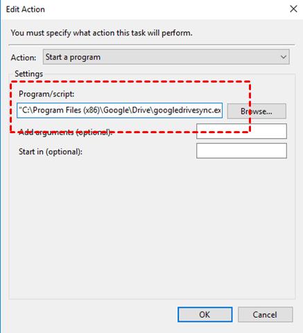 Type Program Script